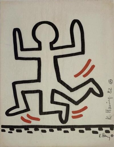 Keith Haring, 'Bayer Suite #6', 1982