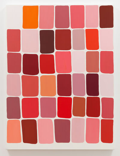 Meg Cranston, 'Hue Saturation Value (Red)', 2018