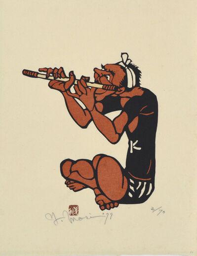 Yoshitoshi Mori, 'Japanese Flute', 1979