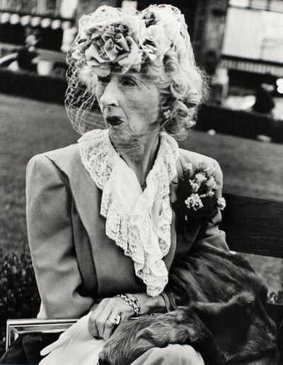 Lisette Model, 'Woman with a Veil, San Francisco', 1949