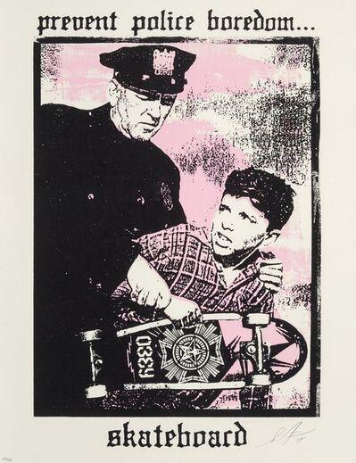 Shepard Fairey, 'Prevent Police Boredom', 2018