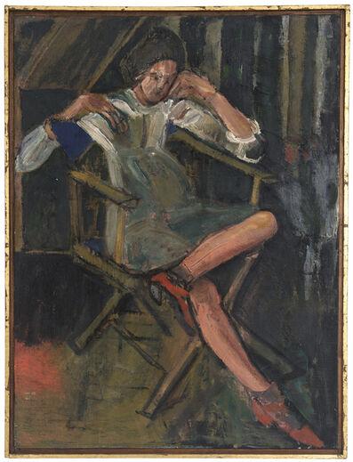 Bernard Chaet, 'Girl in Chair', 1967