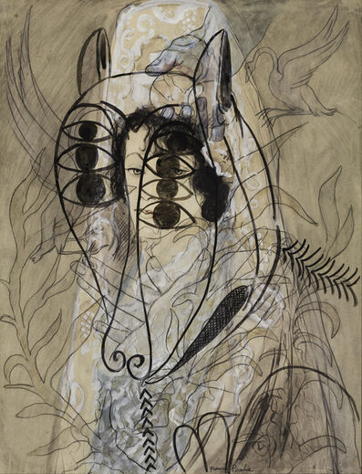 Francis Picabia, 'Untitled (Espagnole et agneau de l'apocalypse [Spanish Woman and Lamb of the Apocalypse])', 1927-1928