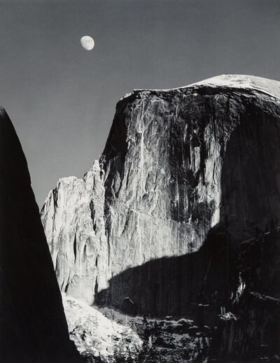 Ansel Adams, 'Moon and Half Dome, Yosemite National Park, California', 1960