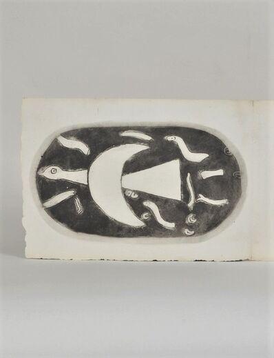 Georges Braque, 'Chants de Milarepa', 1950