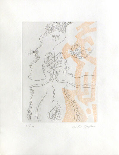 André Masson, 'Ariadne's Clew (Le Fil d'Ariane) from For Meyer Schapiro ', 1974