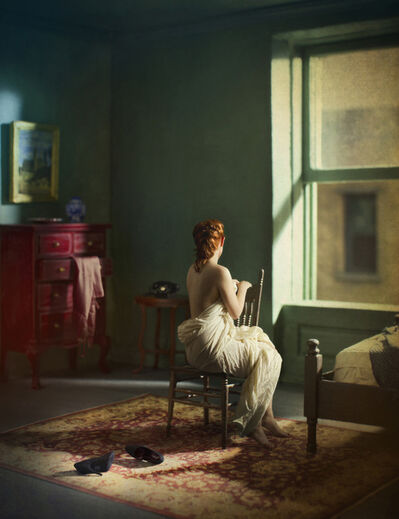 Richard Tuschman, 'Green Bedroom (Morning)', 2013
