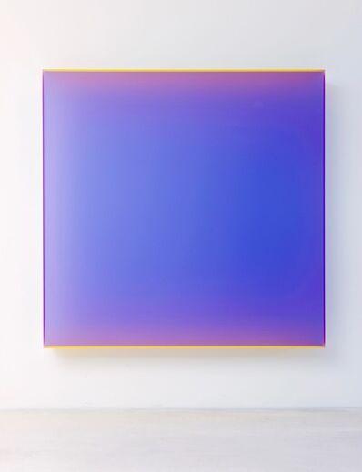 Regine Schumann, 'color satin violet cologne', 2017