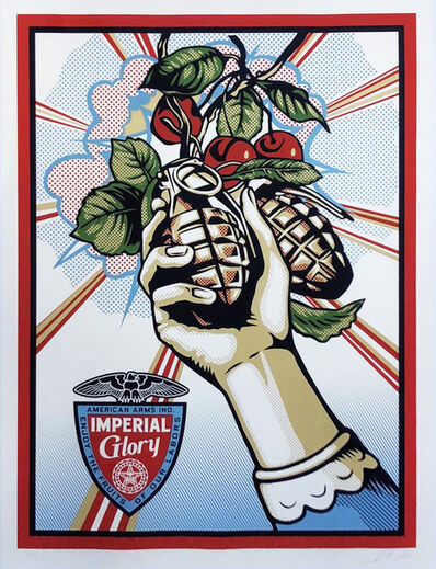 Shepard Fairey (OBEY), 'Imperial Glory', 2012