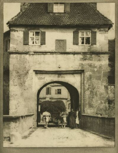 Alvin Langdon Coburn, 'The Gateway, Dinkelsbuhl'