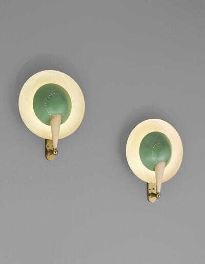 Stilnovo, 'Pair of rare adjustable wall lights, model no. B. 4917', 1950s