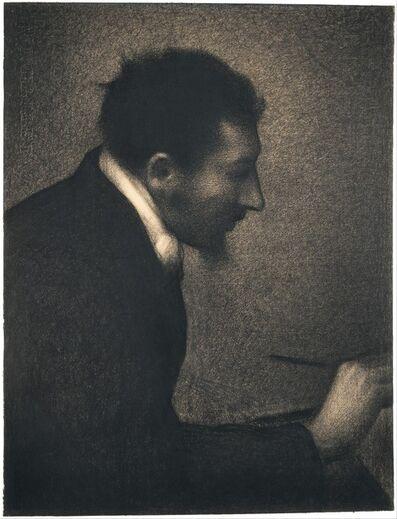 Georges Seurat, 'Aman-Jean (Portrait of Edmond François Aman-Jean)', 1882–1883