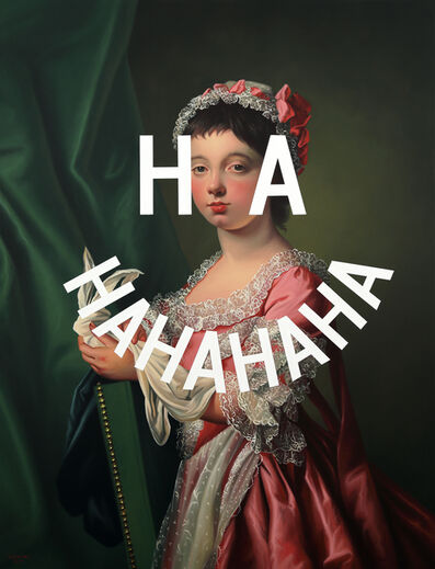 Shawn Huckins, 'Laughing On The Inside: Miss Frances Lee', 2019