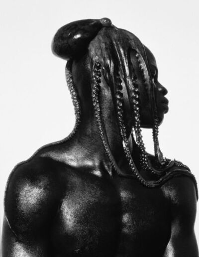 Herb Ritts, 'Djimon with Octopus, Hollywood', 1989