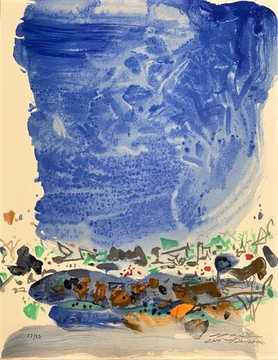 Chu Teh-Chun, 'Saison bleue', 2006