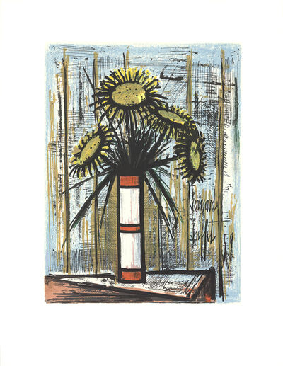 Bernard Buffet, 'Sunflowers', 1975