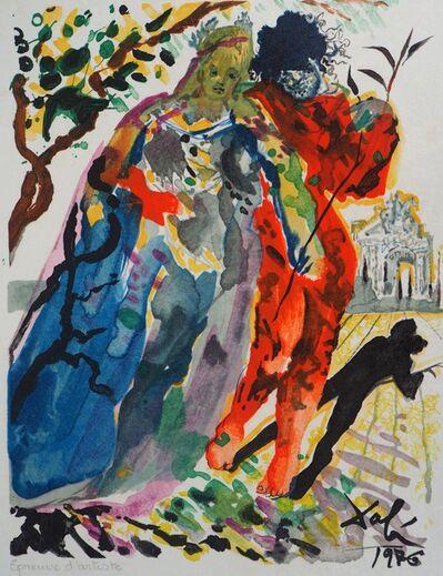 Salvador Dalí, 'Les amoureux (Fille de Minos)', 1979