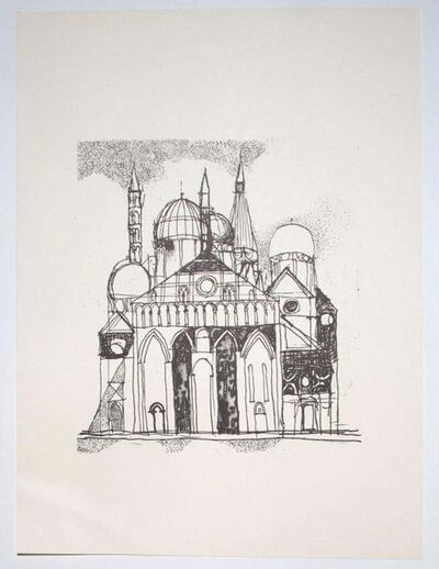Franco Gentilini, 'The Cathedral ', 20th Century