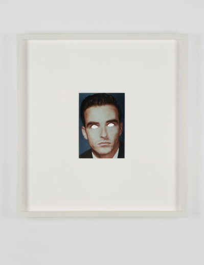 Douglas Gordon, 'Blind Montgomery (white) ', 2002