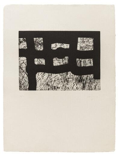 Eduardo Chillida, 'Lagunkide', 1997