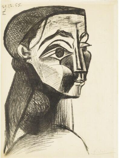 Pablo Picasso, 'Portrait de Femme II', 1955