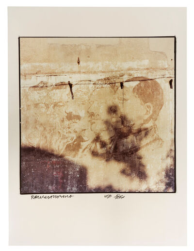 """Robert Rauschenberg, 'Profiles on Wall, (from """"Studies for Chinese Summerhall"""")', 1983"""