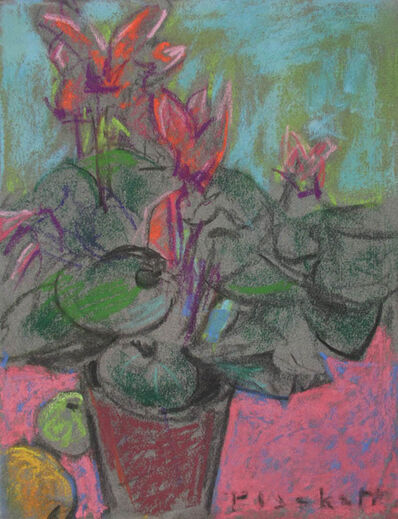 Joseph Plaskett, 'Untitled (Still Life with Cyclamen and Fruit IV)', ca. 2000