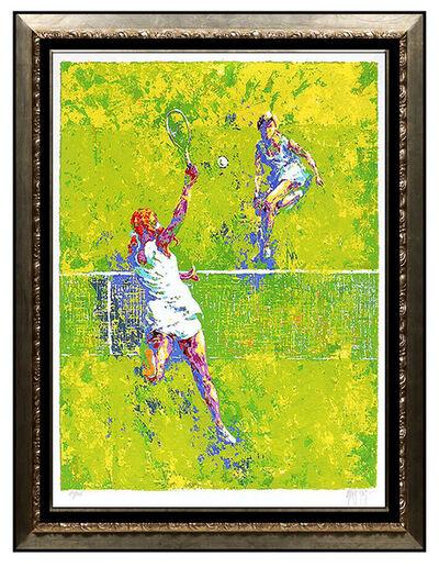 Mark King, 'Mark King Female Tennis Serigraph Original Hand Signed Sports Artwork Deuce SBO', 20th Century