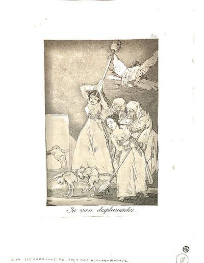 Francisco de Goya, 'Ya van desplumados', 1904