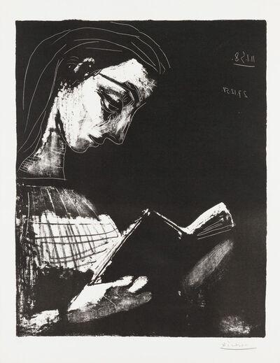 Pablo Picasso, 'Jacqueline Lisant', 1958