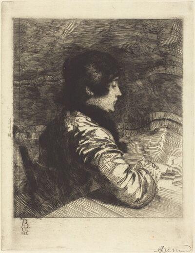 Albert Besnard, 'Madame Besnard', 1884