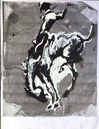 Richard Hambleton, 'Horse and Rider'