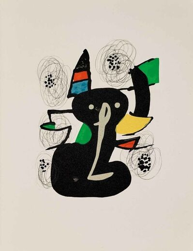 Joan Miró, 'Untitled (La Mélodie Acide, M.1214)', 1980