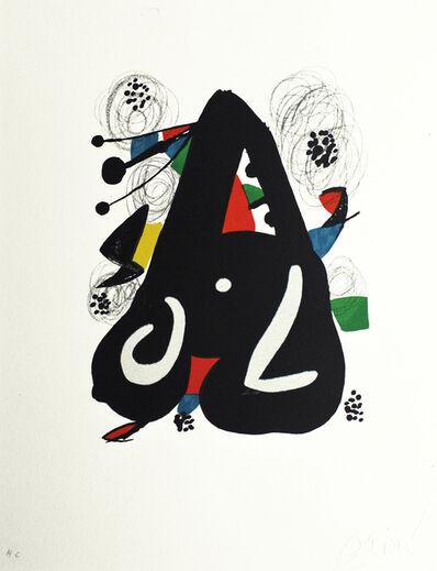 Joan Miró, 'La mélodie acide nr 1220', 1980