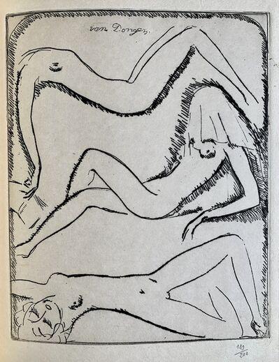 Kees van Dongen, 'Reclining nudes', 1925