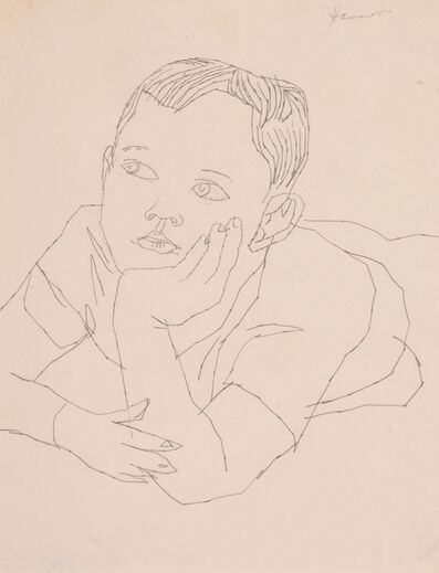Andy Warhol, 'Boy Upper Torso'