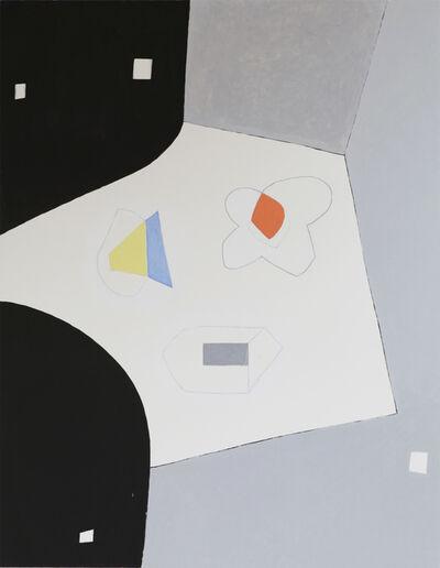 Jürgen Partenheimer, 'Separate Spheres II 100 Poets #77, Janet Frame', 2019
