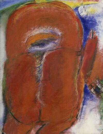 Horst Antes, 'Rote Figur', 1959-1960