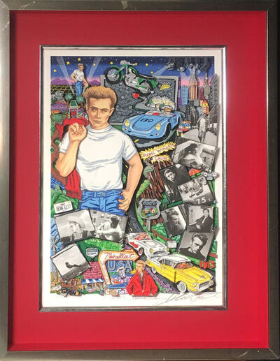 Charles Fazzino, 'Forever James Dean', 2005