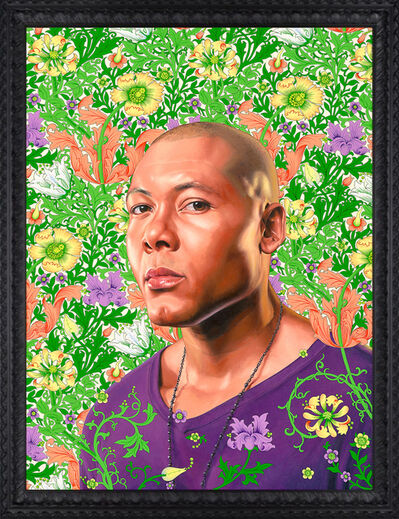 Kehinde Wiley, 'Portrait of Jae White', 2011