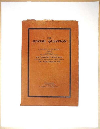 "R. B. Kitaj, 'R.B. Kitaj ""The Jerwish Question""', 1960-1969"