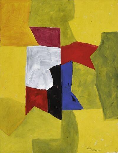 Serge Poliakoff, 'Composition Abstraite', circa 1958