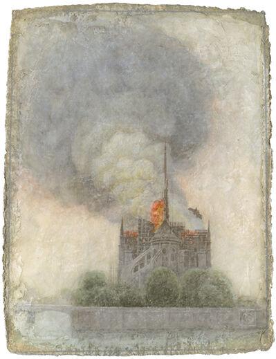 Victor Koulbak, 'Notre-Dame Burning', 2019