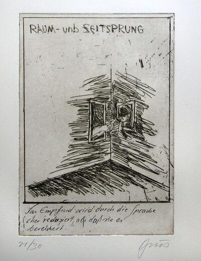 Günter Brus, 'kaspar hauser - a ten piece pictorial poem', 2008
