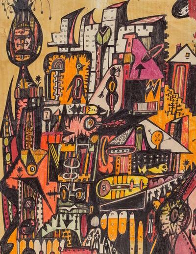 Anne Grgich, 'Random Phenomena (Cityscape) ', 1982