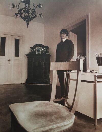 """Reiner Schwarz, '""""Reiner Schwarz"""" (II)', 1973"""