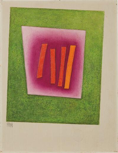Carlos Merida, 'Los cuatro hitos', 1968
