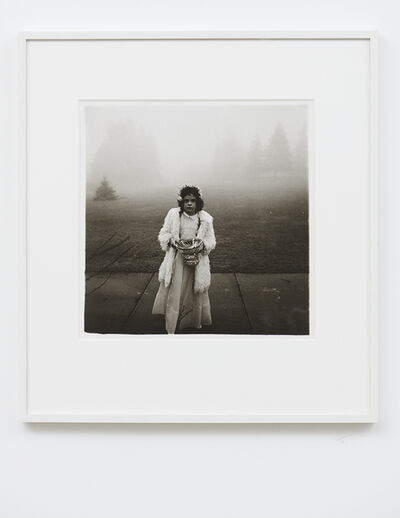 Diane Arbus, 'A flower girl at a wedding, Conn.', 1964 / printed later