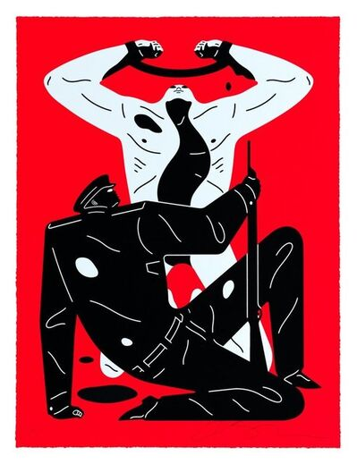 Cleon Peterson, 'The Collaborator (Red)', 2019