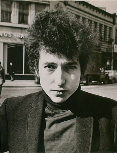 Fred W. McDarrah, 'Bob Dylan, Sheridan Square, January 22, 1965', 1965